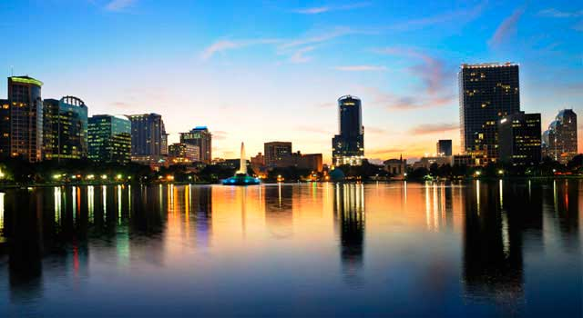 Orlando, in Florida, has a wide offer regarding entertainment and theme parks.